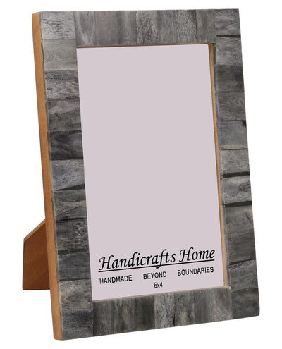 4x6 Photo Frames Handmade Chic Picture Frame - Grey