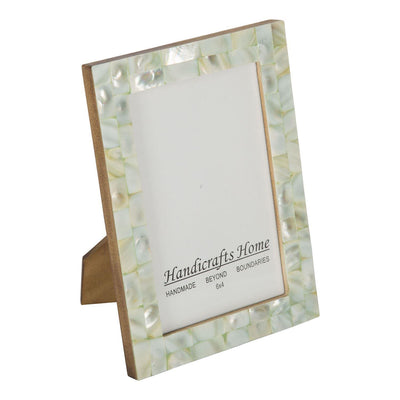 4x6 Photo Frames Mother of Pearl Picture Frame - Green