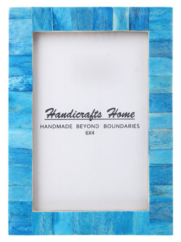 4x6 Photo Frames Handmade Chic Picture Frame - Turquoise