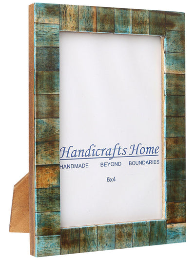 4x6 Photo Frames Handmade Chic Picture Frame - Verdigris