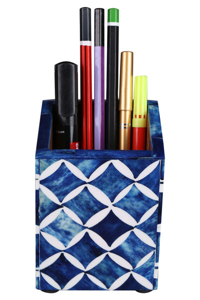 Pen Holder Moroccan Art Inspired Caddy Pencil Cup - Star
