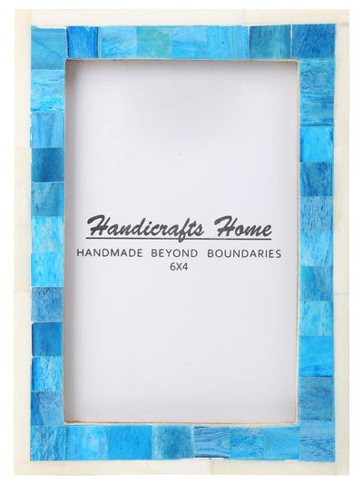 4x6 Picture Frame Mosaic Wall Decor Gift Photo Frames - Turquoise