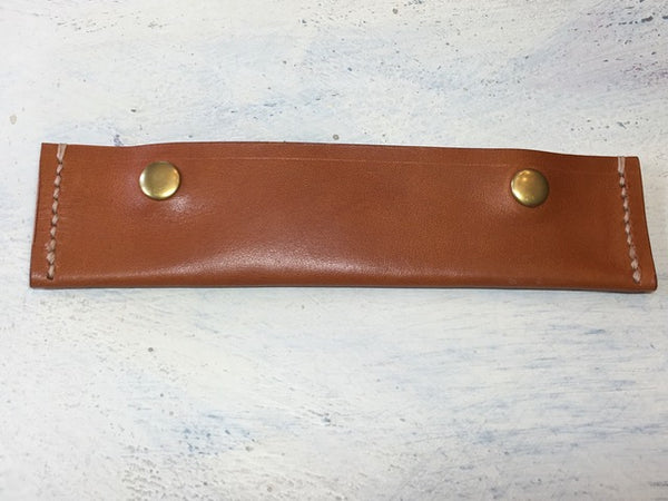 Leather Knitting Needle Holder