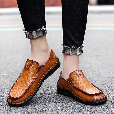 Men bree freely and comfortable house sevening hoop shoes