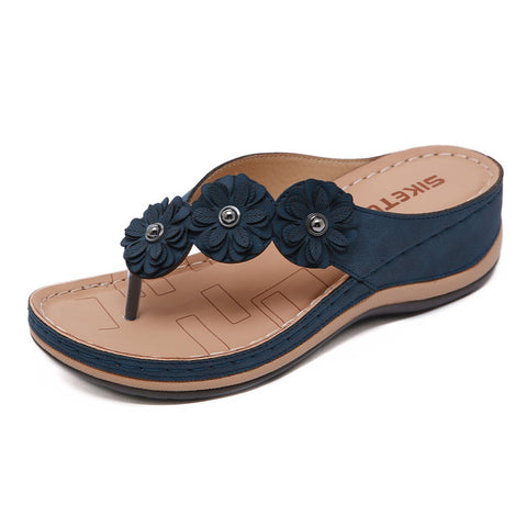 Frauen-Anti-Rutsch-Strandresort bequeme Sandalen Hang
