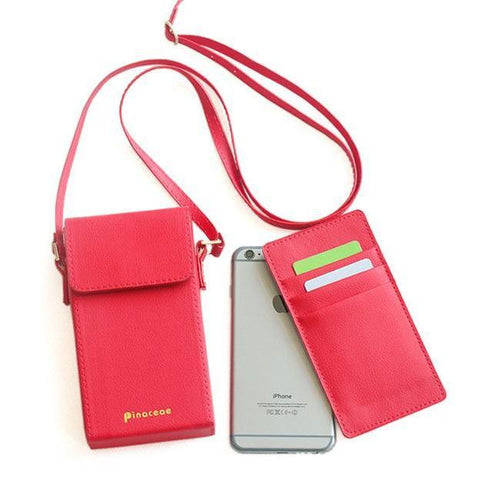 Damen Casual Phone Wallet Umhängetasche