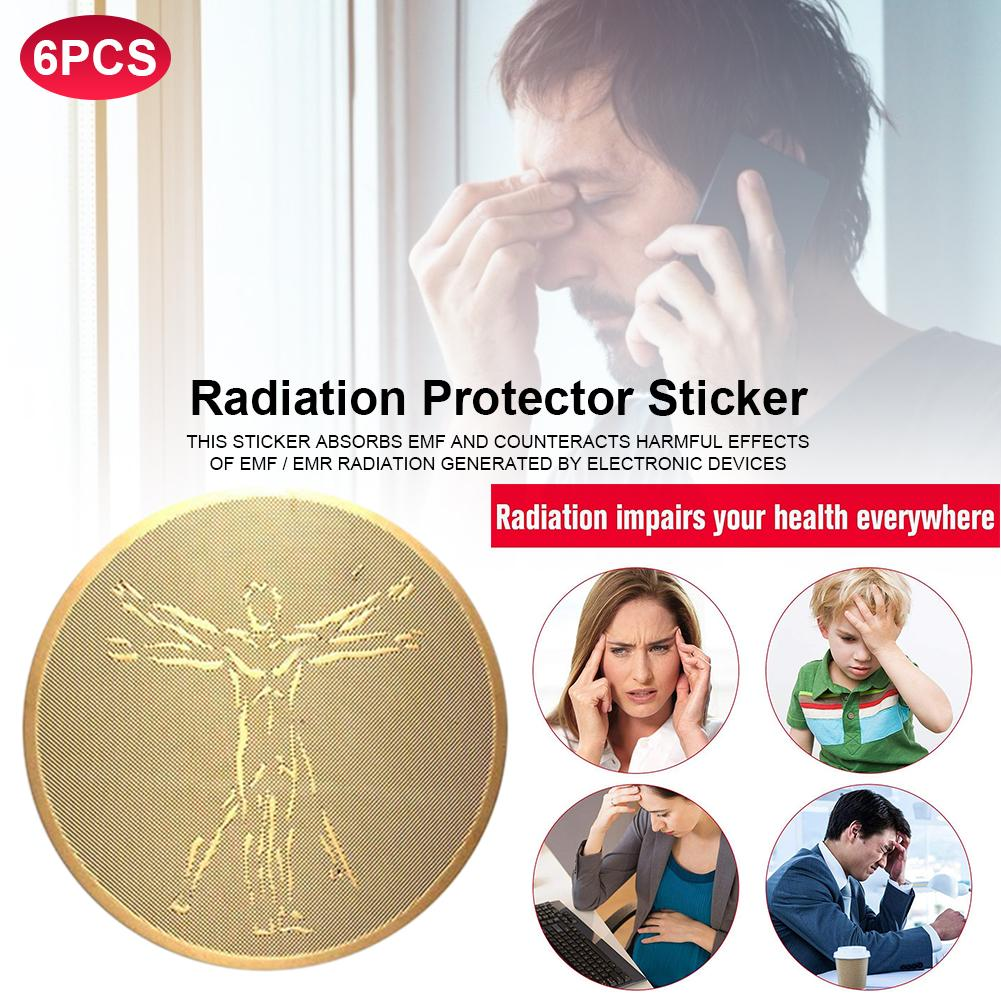 6 EMF Protection Phone Anti Radiation Protector Sticker For All Devices