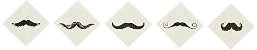 FINGERSTACHE TATTOO ASST - Apparel Accessories - 72 Pieces