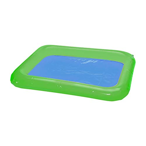 Topwon Inflatable Sand for Kids/Sand Tray/Sand Molds/Inflatable Sand/Portable Sand Tray /Sand Tray Lid (29.5�39.3Inch)