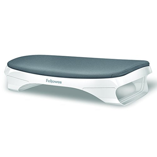 Fellowes I-Spire Series Foot Cushion/Rest, White/Gray (9311701)