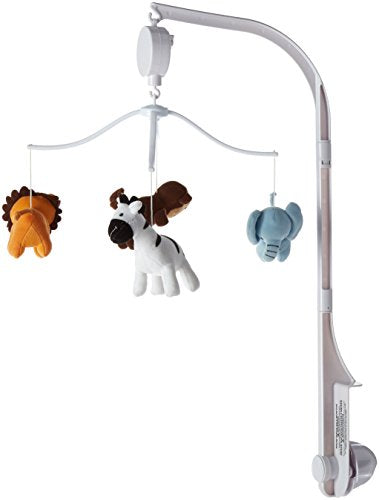Bedtime Originals Jungle Buddies Mobile, Brown/Yellow