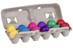 Silly Rabbit Confetti Eggs, Cascarones, 1 Doz., (Pack of 3 - Total 36 Eggs)