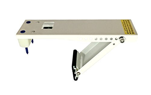 Frost King ACB80H Small, Universal Air Conditioner Support Brackets, Safely Supports Window AC Units Up To 80 Lbs (5,000 To 10,000 BTUs), Steel, Rugged Construction