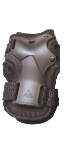 K2 Skate Men's XT Premium Wrist Guard, Black, Medium