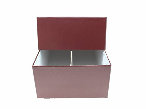 Double Row Display Slab Box 12 x 5 3/4 x 3 Maroon by Guardhouse