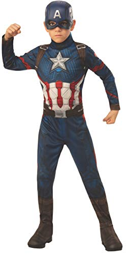 Rubie's Marvel: Avengers Endgame Child's Captain America Costume & Mask, Small, Multicolor