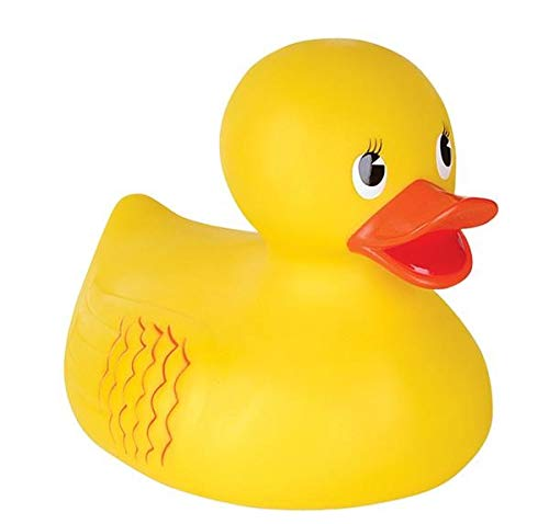 Rhode Island Novelty 10 Inch Classic Style Rubber Duck ONE Per Order