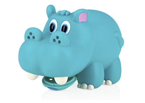 Nuby Hippo Spout Guard, Aqua. Opening Diameter Measures 2.25 INCHES