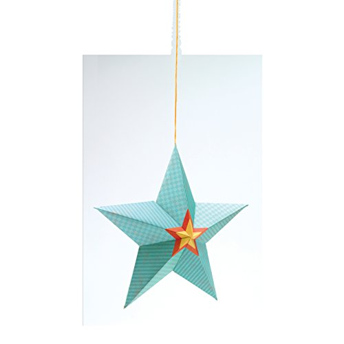 Djeco Hanging Paper Decor, Stars At Night
