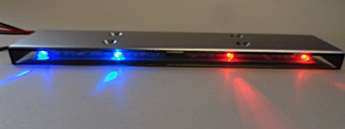 Apex RC Products 1/10 16 LED Police Light Bar W/ 9 Selectable Modes #9015RB