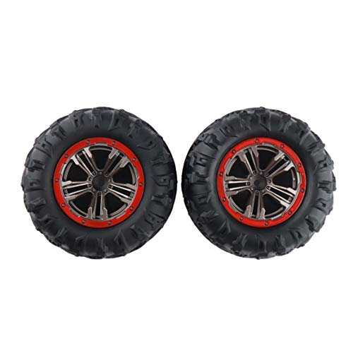 GDOOL 1:10 1/10 9125 RC Trucks Car Tires Wheels 25-ZJ02 for High Speed 9125 RC Cars S920 RC Trucks (2 PCS)