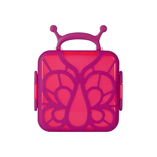 Boon Bento Lunch Box, Pink Butterfly
