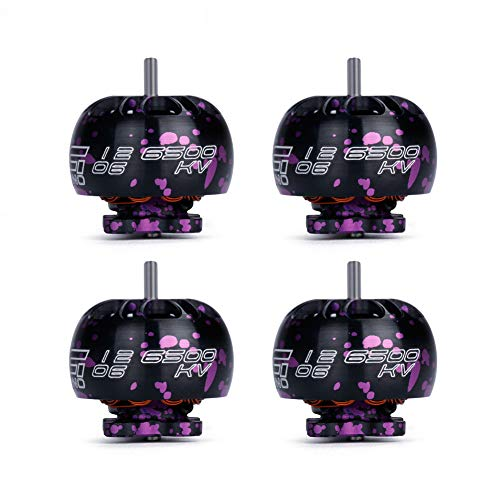 iFlight 4pcs XING Nano Motor 2-4s Toothpick Ultralight Build Micro Motor for 2-3inch Quadcopter Micro Drone(1206 6500KV)