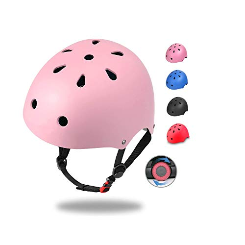 Dostar Kids Bike Helmet Adjustable Toddler Helmet Ages 3-8 Boys Girls Helmet Child Kids Helmets Multi-Sport Cycling Skating Skateboard Bicycle Scooter Helmet -CPSC Certified for Safety Comfort