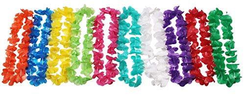 Oojami Mega Plastic Luau Lei Assortment - 100 Piece Pack