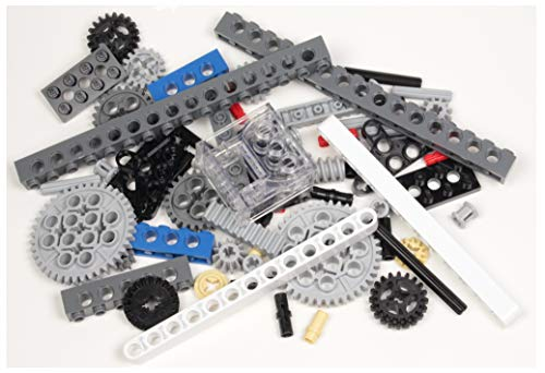 Technic Brick Mix of LEGO and Other Brands (Mindstorms EV3 Gear axle Beam 68 Set Bulk lbs) Nice! Get Exactly What's Pictured!