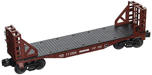 Bachmann Industries Flat Car with Buklhead Ends Norfolk Southern O Scale Train