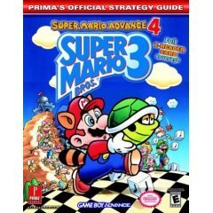 Super Mario Advance 4 Super Mario Brothers 3 Game Boy Advance, Prima's Official Strategy Guide