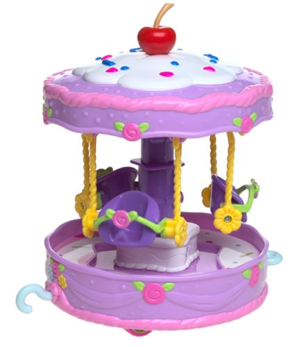 Strawberry Shortcake Berry Cute Rides Cakewalk Carousel