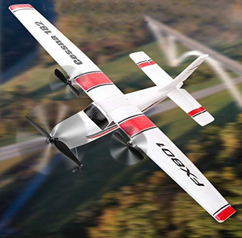RC Plane 2.4Ghz 2 Channels RTF RC Airplane, RC Aircraft with 3-Axis Gyro for Beginner Easy to Fly EPP Glider Toys (Wingspan 310mm)