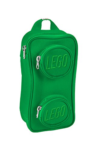 LEGO Kids' Brick Pouch, Green, One Size