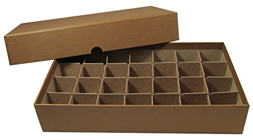 Coin Roll Box for 28 Rolls or Tubes of HALF DOLLARS by Guardhouse