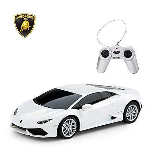 RASTAR Lamborghini HURAC�N LP610-4 RC Car Radio Remote Control, 1/24 Scale (White)
