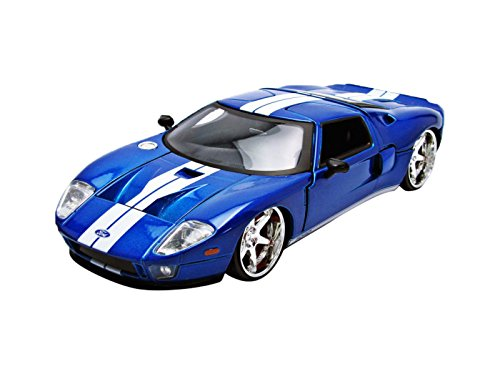 Jada Toys Fast Five 2005 Ford GT 1:24 Scale Die-Cast Vehicle Blue