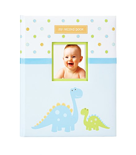 Tiny Ideas Dinosaur Baby Memory Book Photo Journal, Cherish Every Precious Moment of Your Baby, Perfect Baby Shower Gift