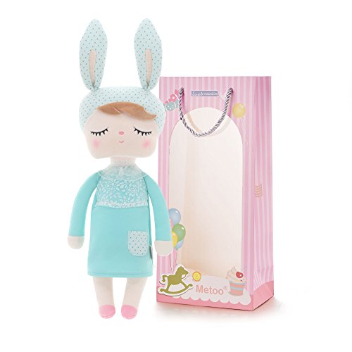 Plush Baby Bunny Doll Girl Gifts Soft First Dolls Easter Angela Girls Toy 12