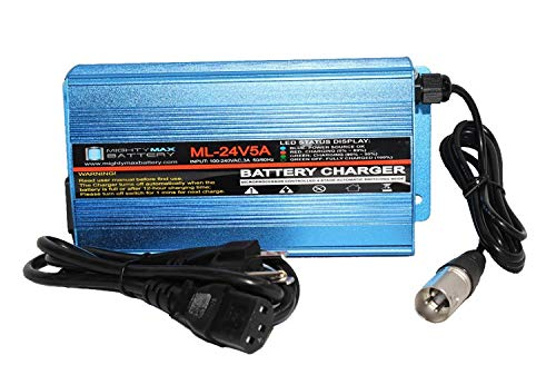 Mighty Max Battery 24V 5Amp Shoprider Streamer 888WB, 888WNLB, 888WSB Battery Charger Brand Product