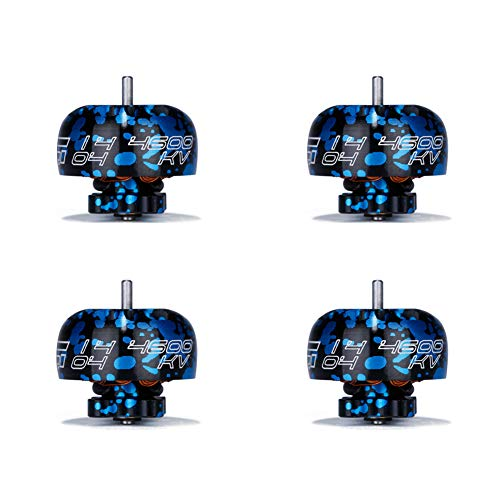 iFlight Motor XING X1404 4600KV Motors 2-4s Unibell for Toothpick Ultralight Build (Pack of 4)