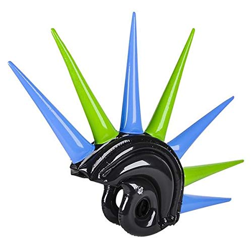 Rhode Island Novelty Inflatable Mohawk Helmet Assorted Colors