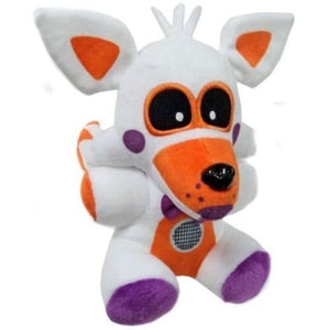 "PampasSK Movies & TV - FNAF Exclusive 8"" Lolbit Plush Five Nights at Freddy's Sister Location 1 PCs"