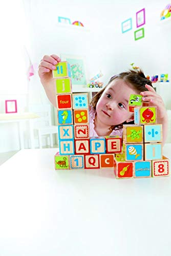 Hape ABC Wooden Stacking Blocks