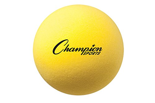 Champion Sports Uncoated Regular Density Foam Ball (6-Inch)