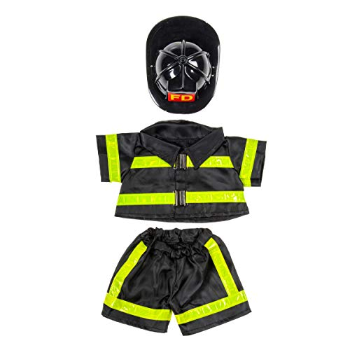Fireman Outfit Teddy Bear Clothes Fits Most 14