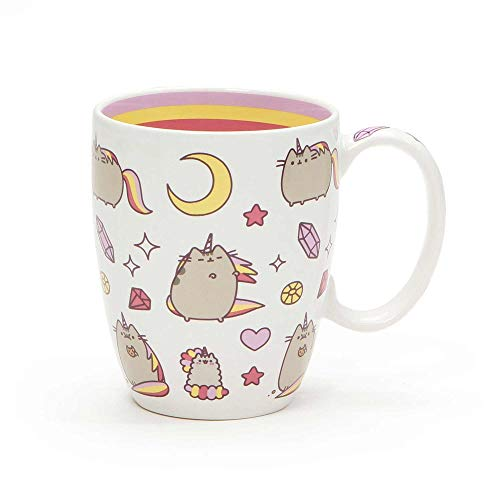 "Enesco Pusheen by Our Name is Mud ""Magical Pusheenicorn"" Stoneware Coffee Mug, 12 oz."