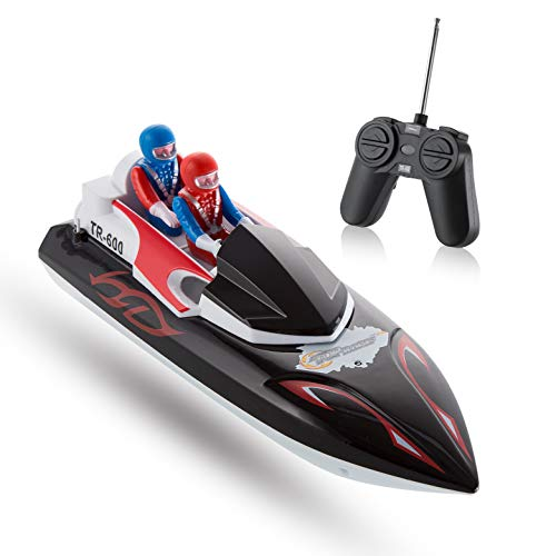 Top Race Remote Control Boat for Beginners, My First Little RC Boat for Kids. TR-600