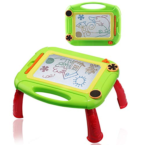 Gifts for 3-8 Year Old Girls,Magna Drawing Board for KidsTravel Toys for 3-9 Year Old Boys Xmas Gift for Toddlers 3-6 Years Old Educational Toys for 3-10 Year Old Girls Magna Green
